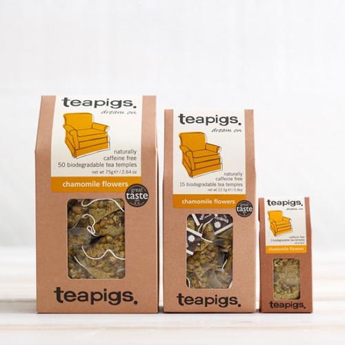 Teapigs Chamomile Flowers (15 Tea Temples)