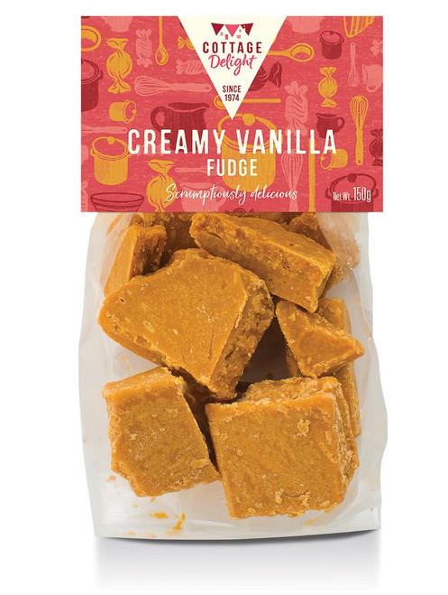 Cottage Delight Creamy Vanilla All Butter Fudge