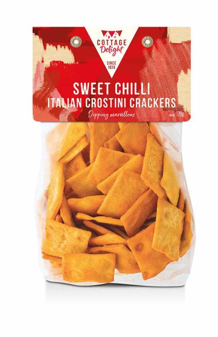 Cottage Delight Sweet Chilli Italian Crostini Crackers