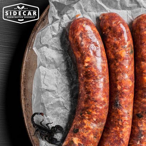 'The Scorpion' Spicy Chorizo Sausages