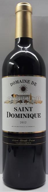 2012 Domaine de Saint Dominique, IGP L'Herault, 75cl