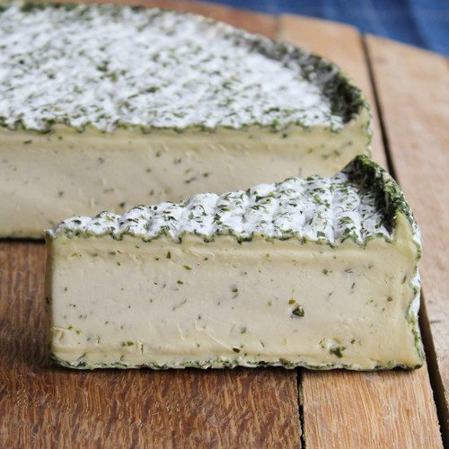 Double Cream Brie with Garlic and Herbs