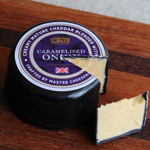 Wyke Farms Mature Cheddar with Caramelised Onion 100g