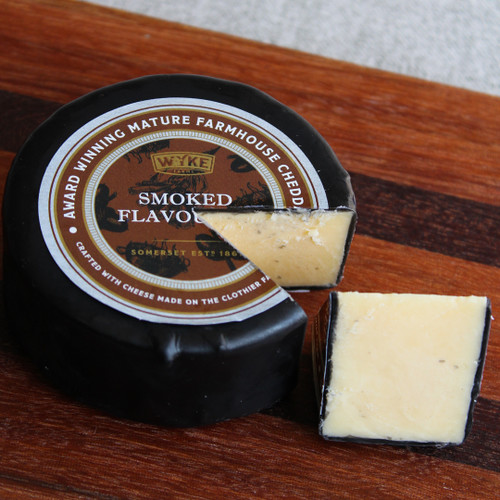 Wyke Farms Smoked Flavoured Cheddar