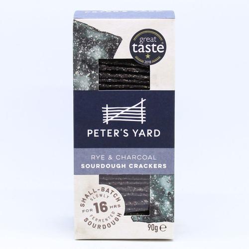 Peter's Yard Charcoal & Rye Crispbread