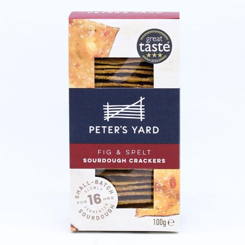 Peter's Yard Spelt & Fig Small Crispbread