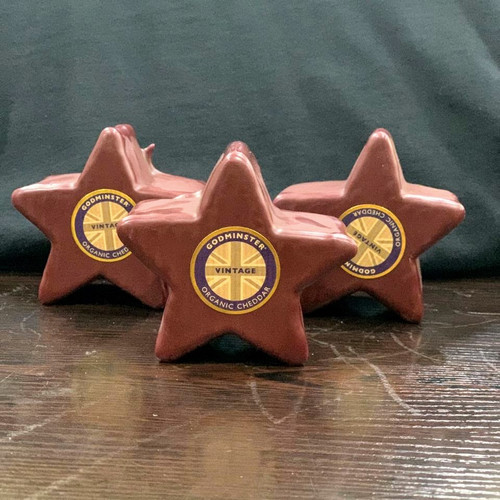 Godminster Vintage Organic Cheddar (Star-Shaped)