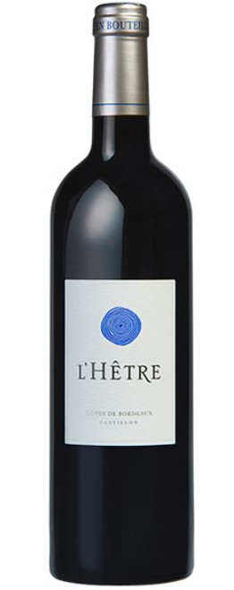 Another outstanding wine from Jacques Thienpont, L'Hetre is located in the heart of the Bordeaux Cotes-de-Castillon appellation and is produced from a blend of 95% Merlot and 5% Cabernet Franc aged for 15 months in oak barrels.  Displaying a dark purple colour; fresh and sweet on the nose with a wonderful expression of autumn fruits;  in the mouth the wine is firm and rich with ripe tannins and a round, silky structure; on the palate the wine is fresh and spicy.