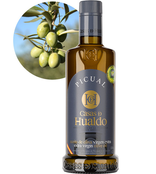 Picual (Medium Strength) Extra Virgin Olive Oil by Casas De Hualdo 500ml