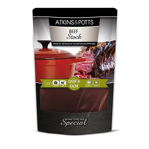 Atkins & Potts Beef Stock