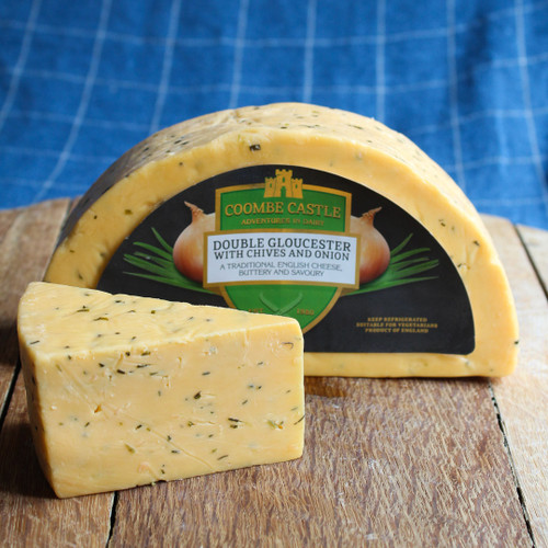 Double Gloucester with Chives and Onion