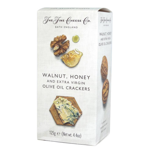 The Fine Cheese Co. Walnut, Honey and Extra Virgin Olive Oil Crackers