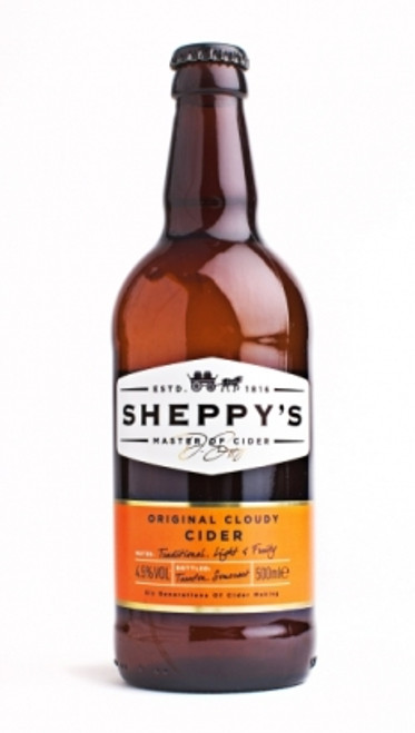 Sheppy's Original Cloudy Cider 500ML