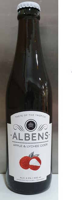 Albens Apple & Lychee Cider 330ml