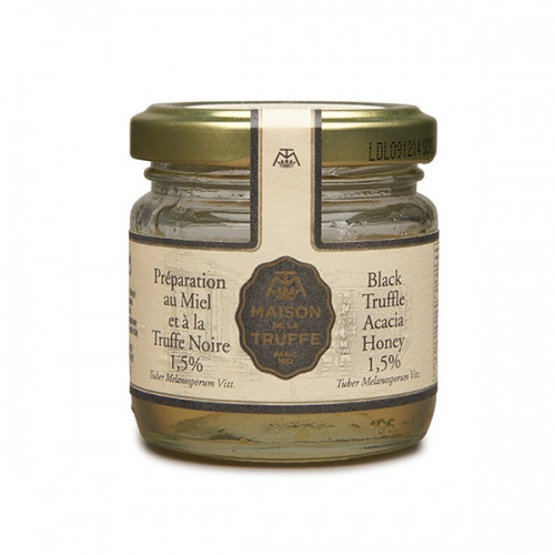 Black Truffle Acacia Honey