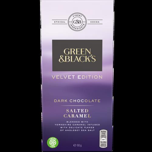 Green and Black's Velvet Edition Salted Caramel Dark Chocolate