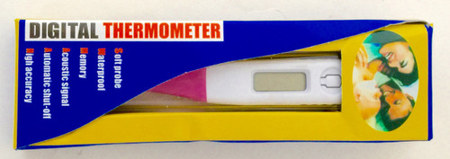 Accurate Simple Digital Thermometer Pink