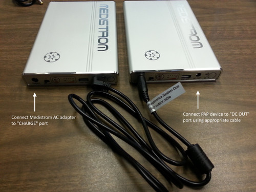 Medistrom Pilot-12 CPAP Battery Dual Config
