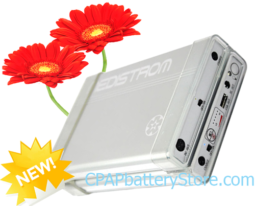DUAL Medistrom Pilot-24 CPAP Battery AirSense 10 AutoSet For Her
