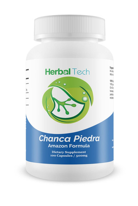 "HERBAL TECH Chanca Piedra ""Stone Breaker"" - 100 Capsules"