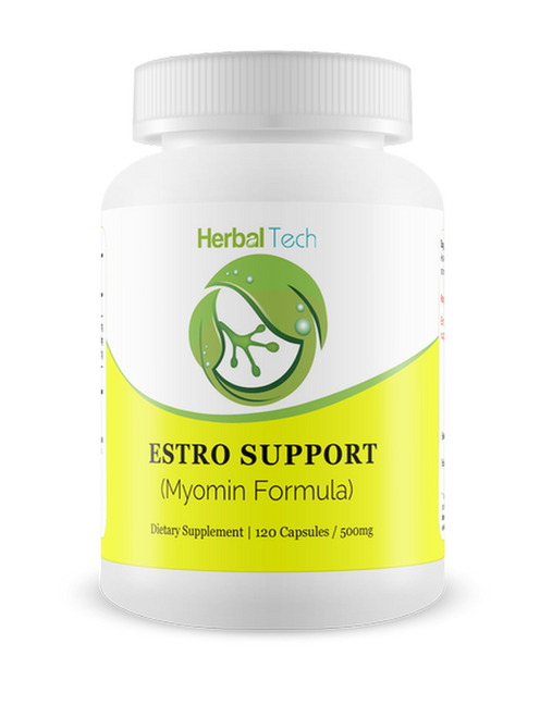 HERBAL TECH Estro Support (Myomin Formula) - 120 Capsules