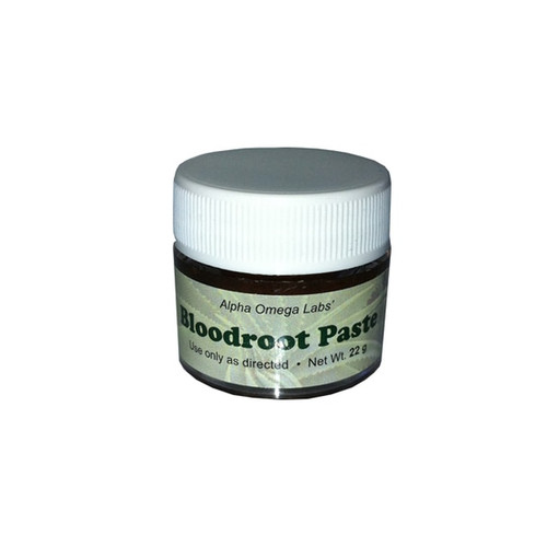 ALPHA OMEGA LABS Bloodroot Paste - 22g