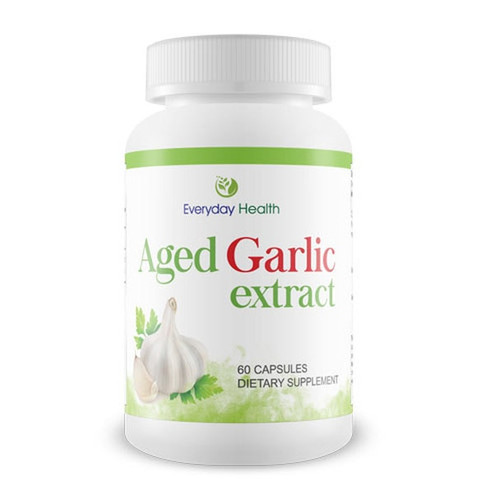 Aged Garlic Extract 500mg - 60 Capsules