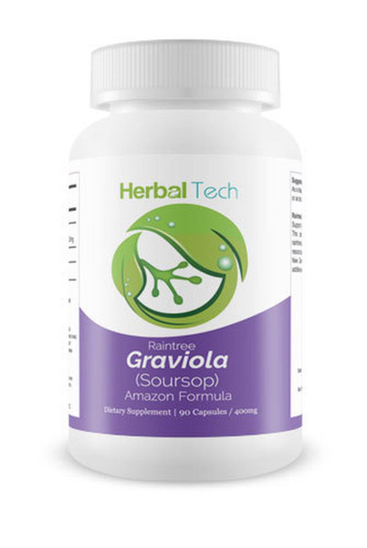 Herbal Tech Raintree Graviola 90 Capsules