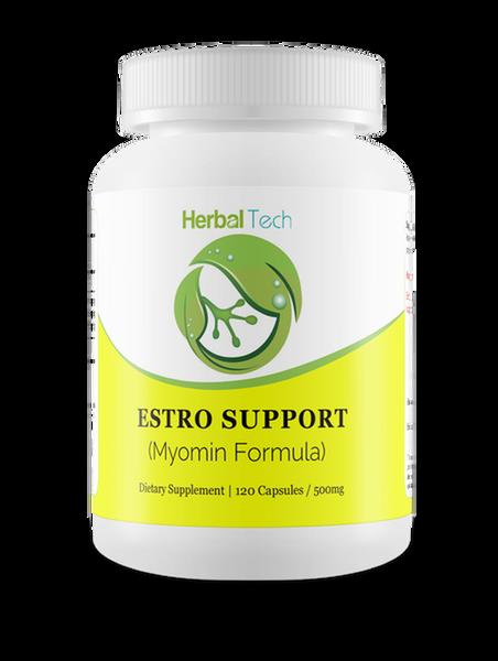 HERBAL TECH Estro Support (Myomin Formula) - 120 Capsules