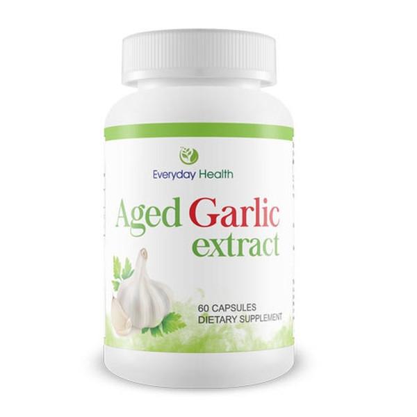 Aged Garlic Extract 500mg - 60 Capsules