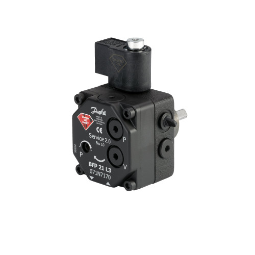 071N7172 Danfoss Oil Pumps, BFP 21, 42.00 L/h, Rotation: L, Nozzle/pressure outlet: L + R - Invertwell - Convertwell Oy Ab