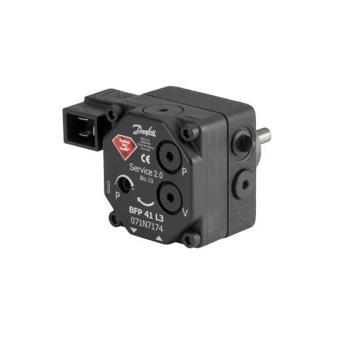 071N8213 Danfoss Oil Pumps, BFP 41, 24.00 L/h, Rotation: L, Nozzle/pressure outlet: L - Invertwell - Convertwell Oy Ab