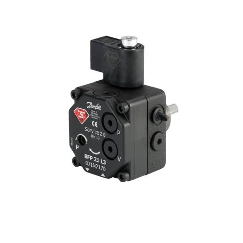 071N8215 Danfoss Oil Pumps, BFP 21, 24.00 L/h, Rotation: R, Nozzle/pressure outlet: L + R - Invertwell - Convertwell Oy Ab
