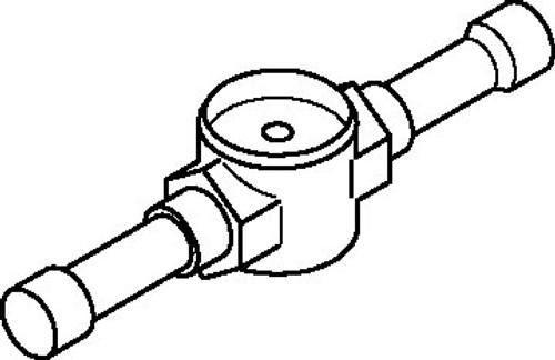 014L0187 Danfoss Sight glass, SGP 22s N - Invertwell - Convertwell Oy Ab