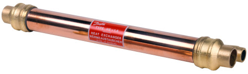 015D0004 Danfoss Tube-in-tube heat exchanger, HE 1.0 - Invertwell - Convertwell Oy Ab