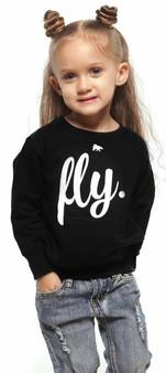 FLY TODDLER FLY Crewneck Black