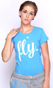 Fly Classic Tee Teal