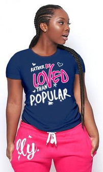 LOVE MYSELF CLOTHES Rather Be Love Lounge Tee 7 Colors