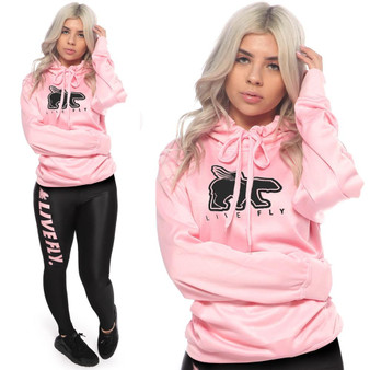 LOVE MYSELF CLOTHES Live Fly Sports Hoodie