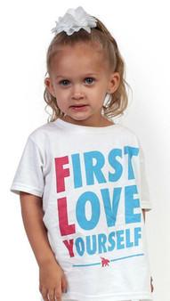 FIRST LOVE YOURSELF Kids Tee