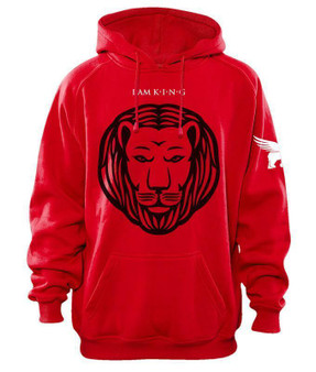 LOVE MYSELF CLOTHES I AM KING Sports Hoodie 5 Colors