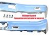 1971-72 El Camino Front & Rear Bumper Kit