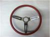 1970 Red 3-Spoke Steering Wheel (only)