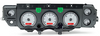 1970-72 Dakota Digital SSVHX INSTRUMENT PANEL (SILVER ALLOY FACE, RED LIGHT)