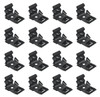 1964 1965 Convertible Top Boot Clips (set of 16)