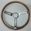 """15"""" Wood Wheel with Rivets (complete)"""
