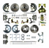 1964-72 Front and Rear Disc Brake Conversion Kit with 14 inch wheels