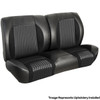 1964 TMI Chevelle or El Camino Sport R Style Bench Seat Cover Kit