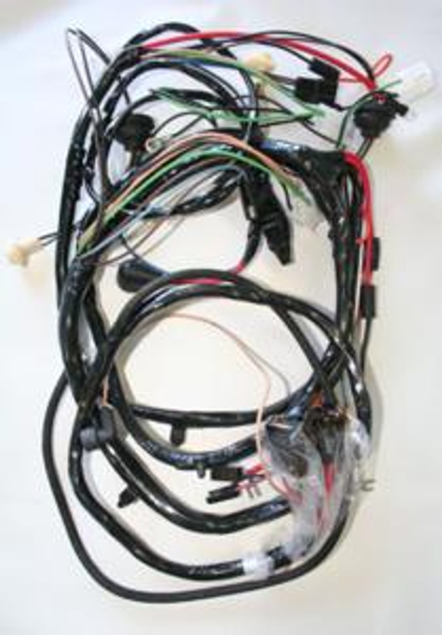 1966 Chevelle, El Camino Forward Lamp Harness V-8 with Gauges. (CH69374
