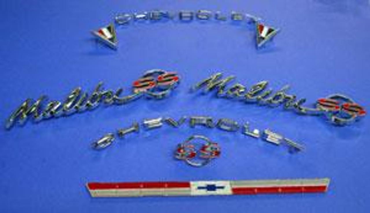 64 Chevelle Malibu Emblem Kit
